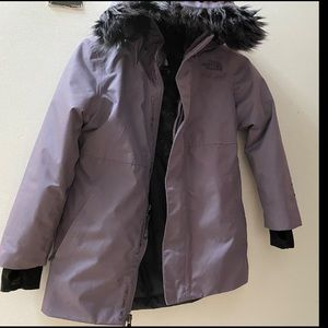 Little Girls North Face Coat